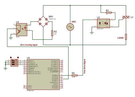 triac diagram tahmid s ac power adjustable phase angle