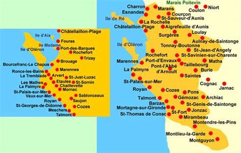 departement de la charente tourisme voyages cartes