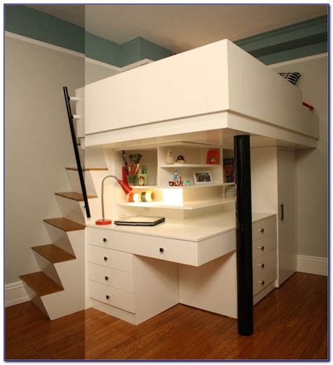 Bunk Bed Desk Combo Walmart   Desk : Home Design Ideas #