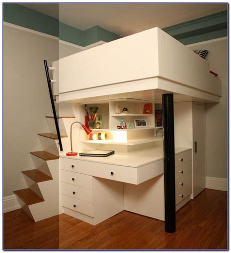 Bunk Bed Desk Combo Walmart   Desk : Home Design Ideas #