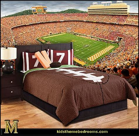 football bedroom ideas decorating theme bedrooms maries manor football