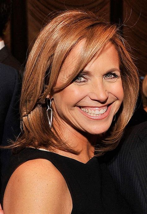 hair dryer featured on katie couric long bob hairstyles inspired by celebrities