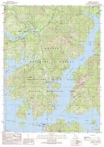 obrien shasta lake map shasta dam mappery