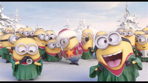 minions  caroling holiday gift card offer amc theatres youtube