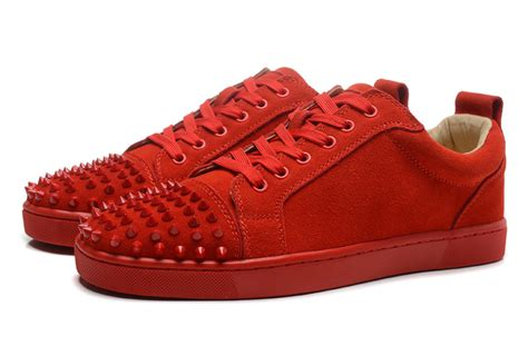 louboutin sneakers new christian louboutin matte spike sneakers