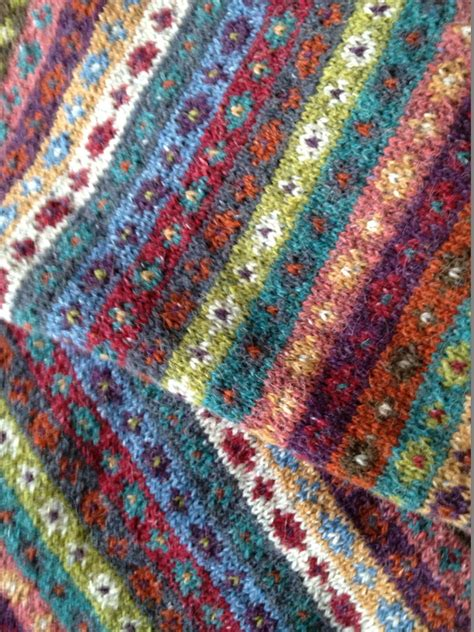 knitting fair isle kaffe fassett fair isle colourwork knitting fair