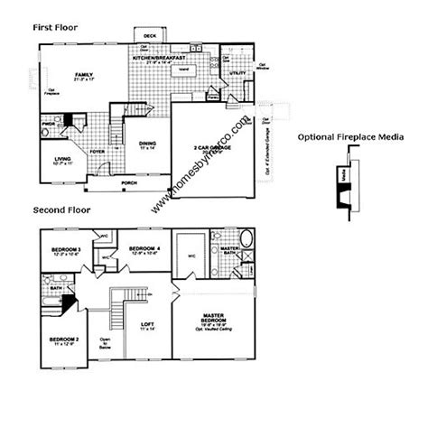 cypress floor plan cypress model in the lancaster falls subdivision in volo