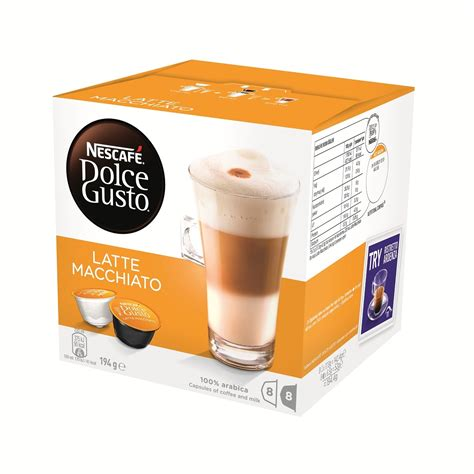 Nescafe Coffee nescafe dolce gusto latte macchiato 8 coffee 8 milk pods