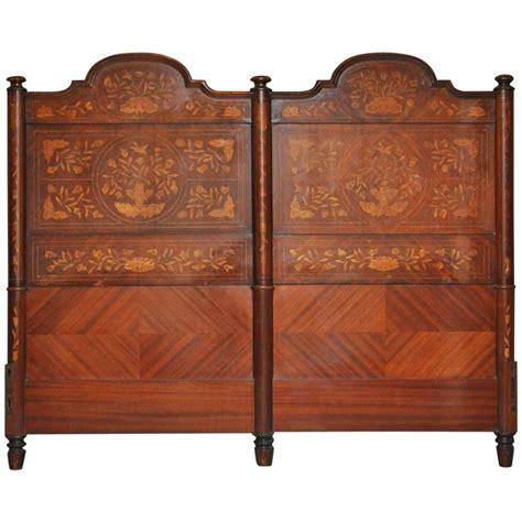 dutch headboard 18th century dutch marquetry king size headboard at 1stdibs