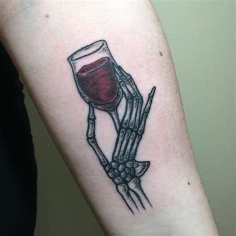 cool hand wine tattoo golfian com