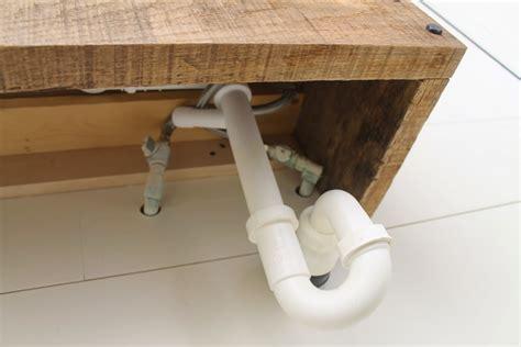 Installing Floating Vanity by Remodelaholic Reclaimed Wood Floating Vanity