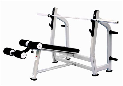 commercial bench press equipment fixed commercial decline bench press