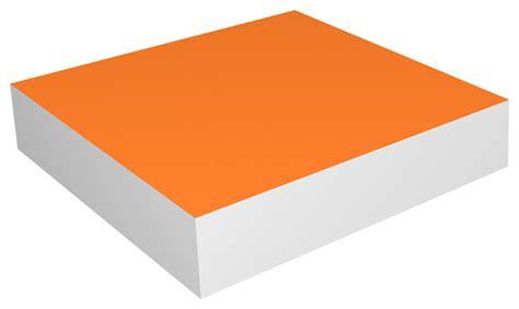 Orange Wall Shelf way basics zboard wall shelf 10 quot orange modern display and wall shelves by way basics