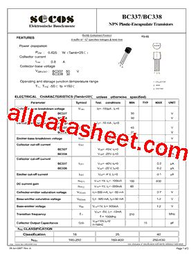 d965 transistor pinout d965 transistor equivalent datasheet 28 images bc338 16 102536 pdf datasheet ic on line