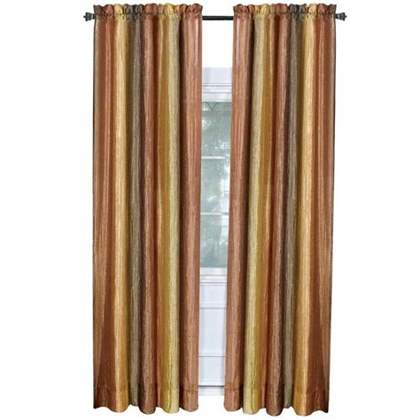 home depot curtain panels achim autumn ombre curtain panel 50 in w x 84 in l