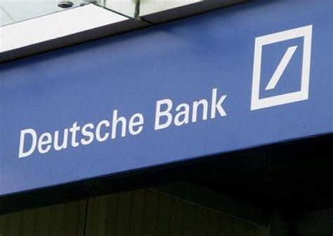 deutsche bank italia deutsche bank indagata in italia per manipolazione mercato
