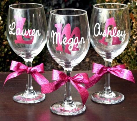monogram barware 25 best ideas about personalized wine glasses on pinterest personalized wine wine