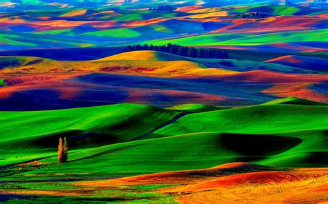 most colorful wallpaper ever colorfull hills wallpaper nature wallpapers 18676