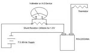 exle 4 20ma thermistor transmitter wiring diagram