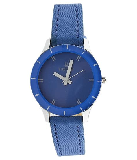 hizone blue analog womens price in india buy