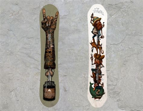 Your Backyard Burton by 5 Burton Backyard Collection 34 Snowboard Graphi