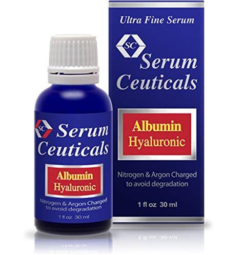 Vitamin Albumin albumin hyaluronic acid serum glutathione niacinamide