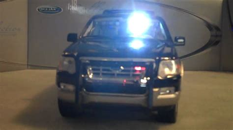 undercover police light package 1 18 ford explorer w undercover police led lighting