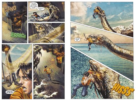 The Thief A Novel pages from percy jackson sea of monsters graphic novel