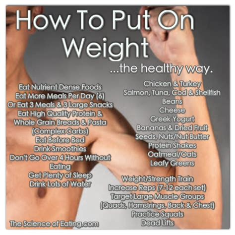 how to get to gain weight how to gain trust