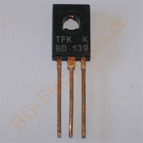 transistor bd140 datenblatt transistor bd139 datenblatt 28 images transistor als schalter bd139 richtig auslegen