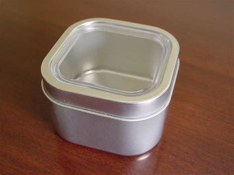 Square Spice Containers Bravada Square Spice Tins Rack 6 Set 8 Oz With