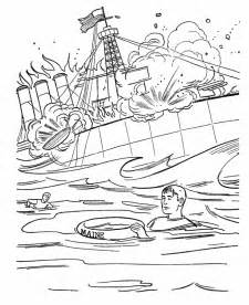 Pearl Harbor Coloring Pages sketch template