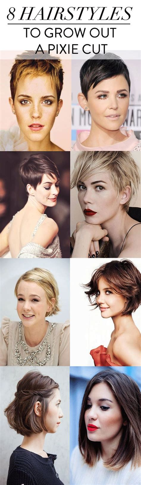 how to gracefully grow out a pixie cut style ideas for growing out a pixie cut