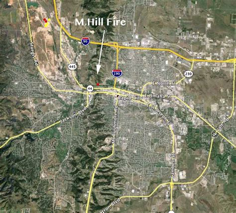 Fireplace Rapid City Sd by On M Hill In Rapid City South Dakota Wildfire Today