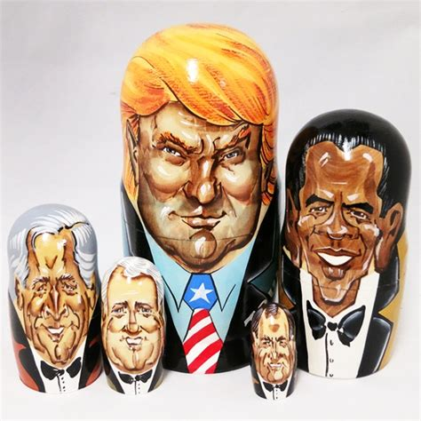 donald for president doll donald and presidents of the usa caricature wooden