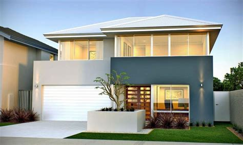 narrow lot home designs narrow lot homes two storey home designs