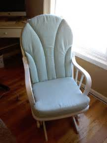 Glider Chair Cushion Covers Blending Beautiful 187 Before And After Rocking Chair