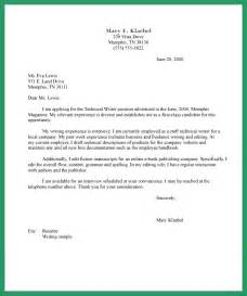 Formal Letter Template Layout Formal Letter Layout Sle