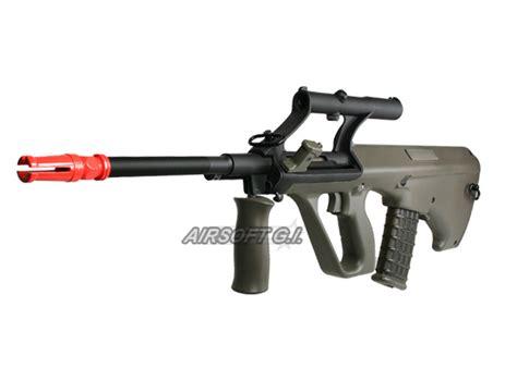 Airsoft Gun Aug jg jg0449a au2g aug a2 rifle aeg airsoft gun od green