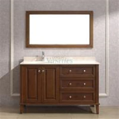 53 Inch Bathroom Vanity by 53 Inch Transitional Single Sink Bathroom Vanity In