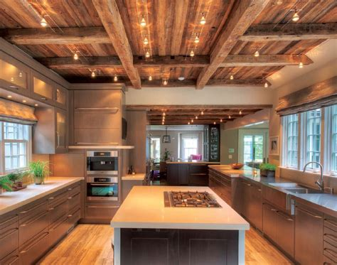 Rancher Style Homes by Barn Wood Ceiling Home Decoz