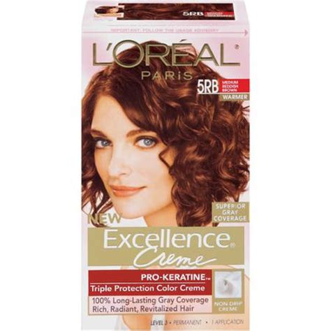 amazing 5rb hair color 1 loreal excellence medium reddish