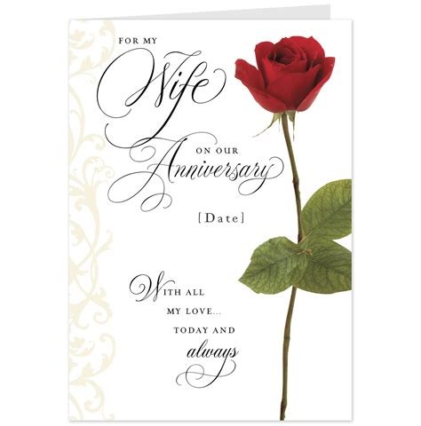 Printable Anniversary Cards For Wife | quotes for wife anniversary card quotesgram