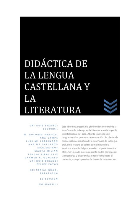 superpixpolis lengua castellana y did 225 ctica de la lengua castellana y la literatura