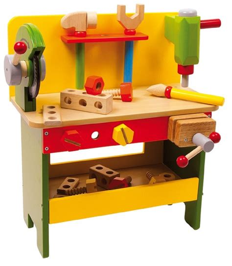 childrens wooden work bench children s power tools wooden workbench