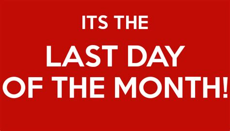 s day last line don t keep calm it s the last day of the month linkedin
