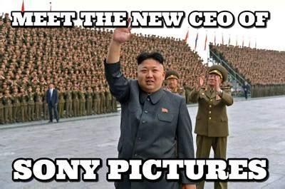 North Korea Meme - sony kim jong un meme politicalmemes com