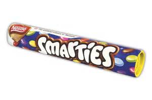 Top Selling Candy Bars Nestle Smarties Christmas Tube
