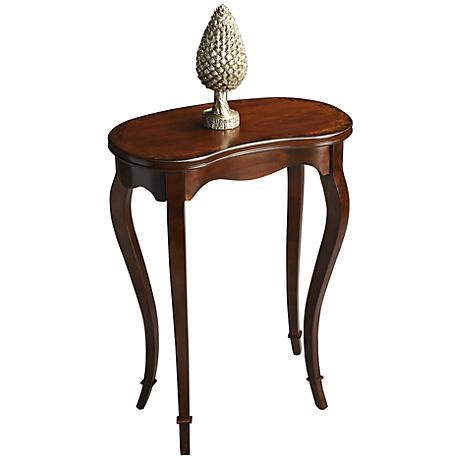 kidney shaped accent table masterpiece kidney shape accent table 3t453 ls plus