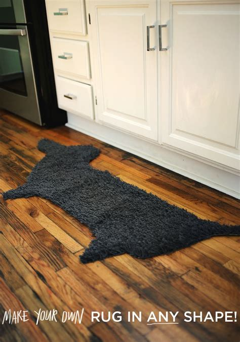 build your own rug try this make your own rug in any shape a beautiful mess
